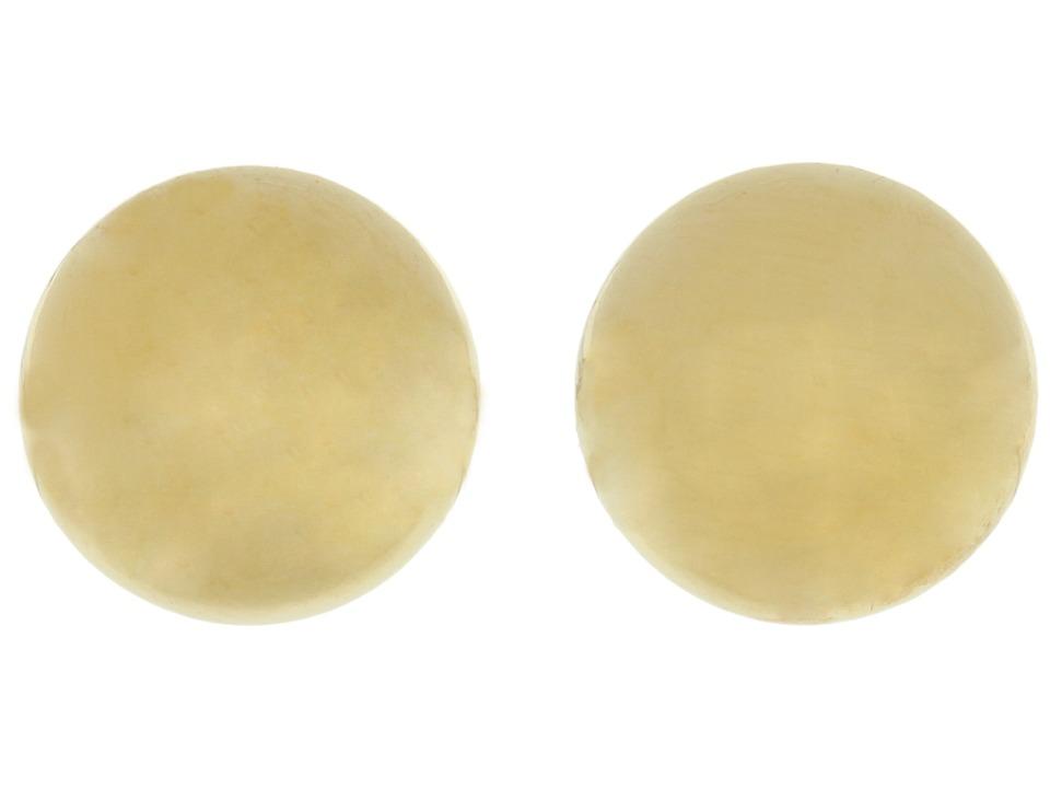 LAUREN Ralph Lauren - 10MM Gold Ball Studs (Gold) Earring