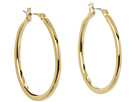 LAUREN Ralph Lauren - Medium Oval Hoops (Gold)
