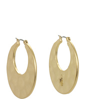 LAUREN Ralph Lauren - Medium Round Flat Hoops