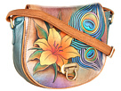 Anuschka Handbags - 511 (Peacock Lily) - Bags and Luggage