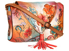Anuschka Handbags - 509 (Henna Floral) - Bags and Luggage
