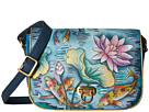 Anuschka Handbags - 512 (Luscious Lilies) - Bags and Luggage