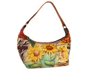 Anuschka Handbags - 510 (Sunflower Safari) - Bags and Luggage