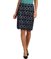 Vince Camuto - Embroidered Lace Pencil Skirt