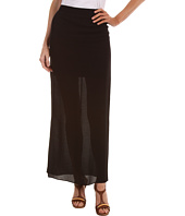 Tibi - Open Weave Rayon Gauze Long Skirt
