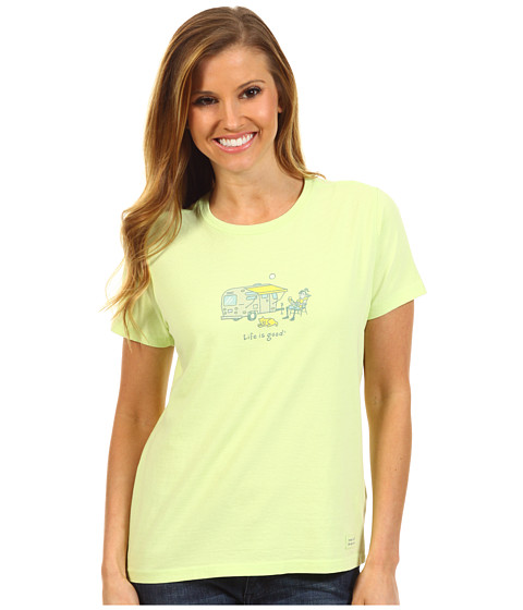 Life is good - Jackie Airstream Lemonade Crusher Tee (Citron Green) - Apparel