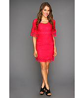 Laundry by Shelli Segal - Bell Sleeve Lace Shift Dress