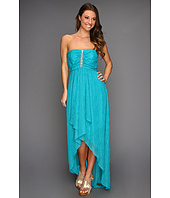 Laundry by Shelli Segal - Strapless Cascade Front Gown