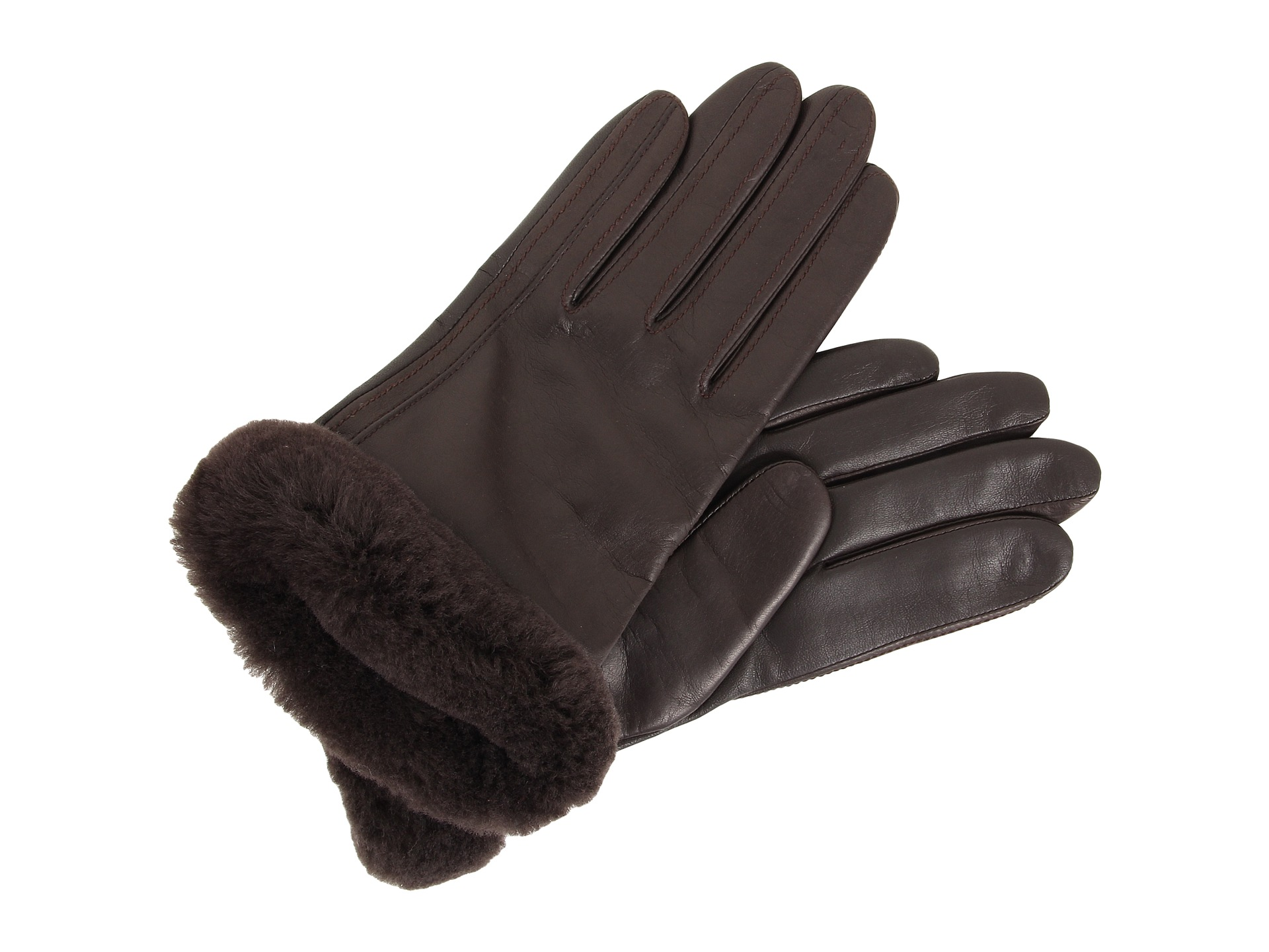 ugg leather gloves uk