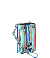 Hadaki - Mardi Gras Stripes - Essentials Wristlet