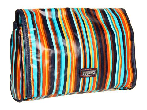 Hadaki - Arabesque Stripes - Coated Toiletry Pod Roll-Up (Arabesque Stripes) - Bags and Luggage