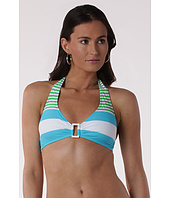 LAUREN Ralph Lauren - Regatta Stripe Ring Front Halter Top