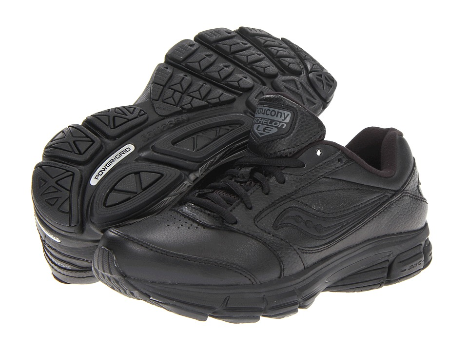 Saucony - Echelon LE2 W (Black) Womens Running Shoes
