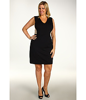 DKNYC - Plus Size Sleeveless V-Neck Dress