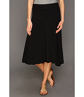 Three Dots - Jersey Colette Double Layer Tea Length Skirt