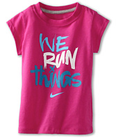 Nike Kids - Nike® Girls' We Run Things S/S Tee (Toddler)