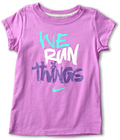 Nike Kids - Nike Girl's We Run Things S/S Tee (Little Kids)