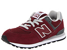New Balance Kids KL574 Toddler, Little Kid, Big Kid Burgundy Shoes