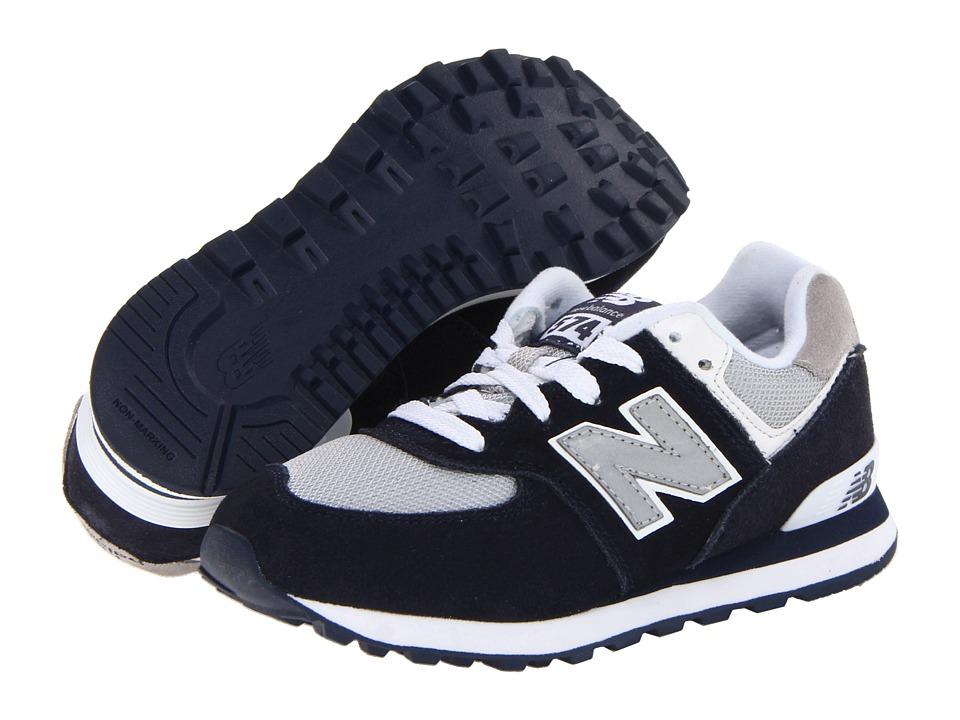 New Balance Kids - KL574 (Toddler/Little Kid/Big Kid) (Navy F13) Kids Shoes