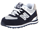 New Balance Kids KL574 Infant, Toddler Navy F13 Shoes