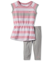 Nike Kids - Striped Tunic Capri Set (Little Kids)