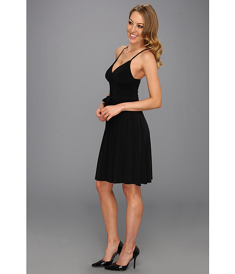 KAMALIKULTURE - Flared Slip Dress (Black) - Apparel