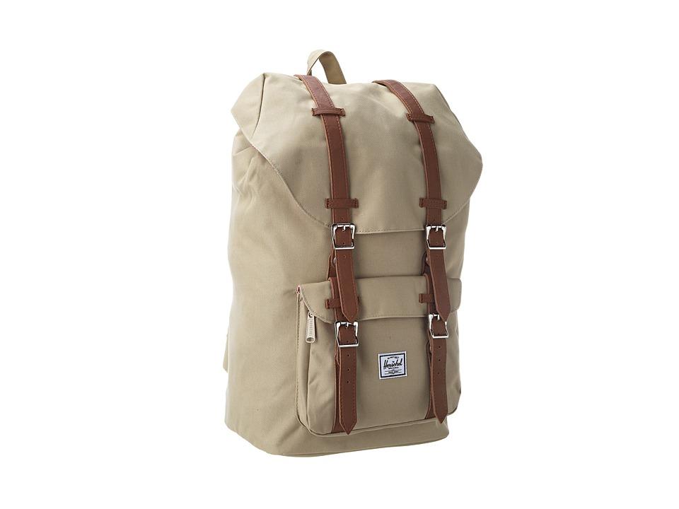 Herschel Supply Co. - Little America (Khaki) Backpack Bags