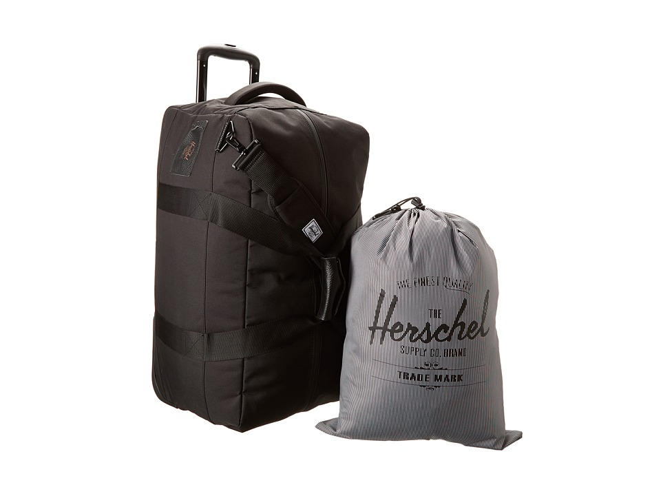 Herschel Supply Co. - Wheelie Outfitter (Black) Carry on Luggage