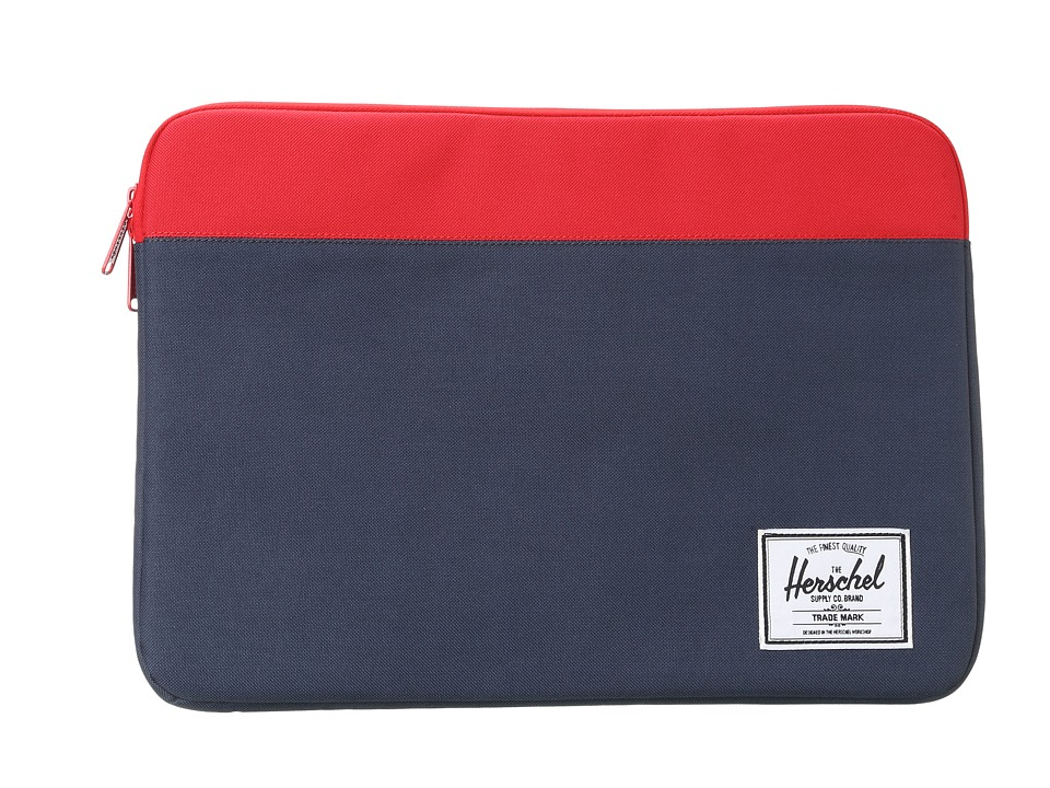 Herschel Supply Co. - Anchor Sleeve 15 (Navy/Red) Computer Bags