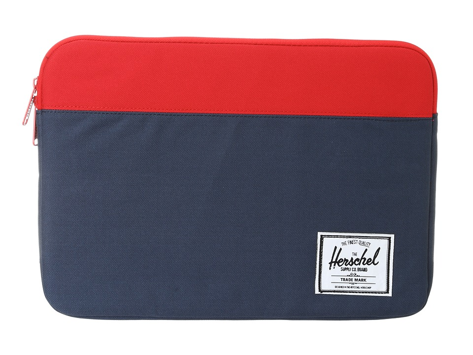Herschel Supply Co. Anchor Sleeve 13 (Navy/Red) Computer Bags