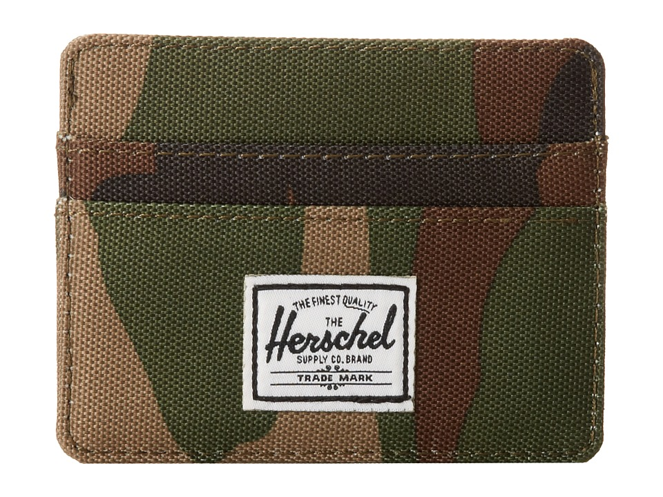 Herschel Supply Co. - Charlie (Woodland Camo) Credit card Wallet
