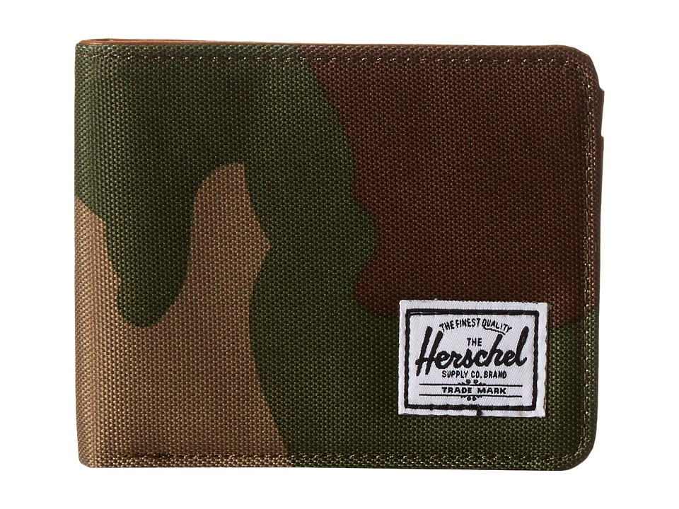 Herschel Supply Co. - Hank (Woodland Camo) Wallet Handbags