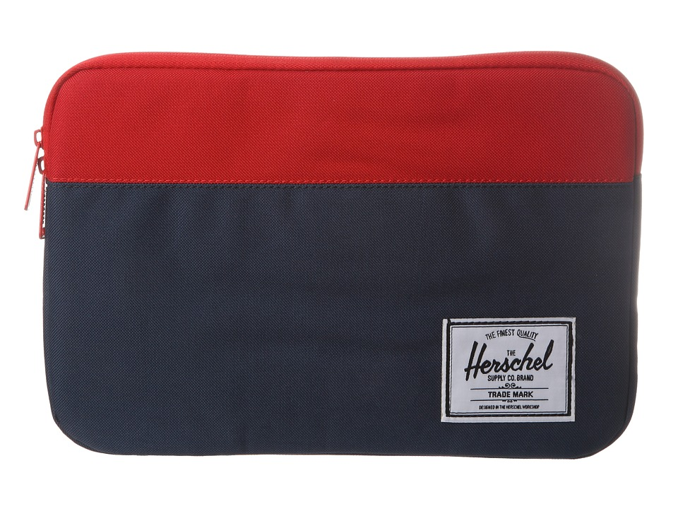 Herschel Supply Co. Anchor Sleeve 11 Navy/Red Computer Bags