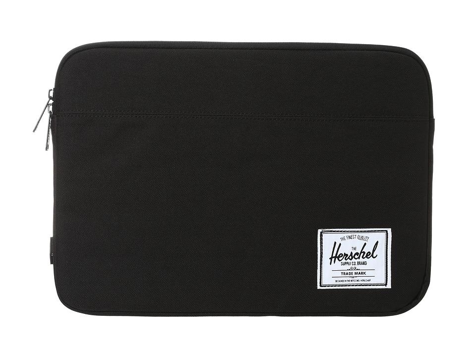 Herschel Supply Co. - Anchor Sleeve 13 (Black) Computer Bags