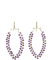 NUNU - Beaded Marquee Drop Earring