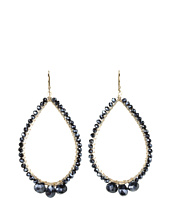 NUNU - Tear Drop Hoop Earring