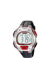 Timex - IRONMAN® Traditional 50-Lap Full-Size Black/Silver-Tone/Magenta Resin Strap Watch