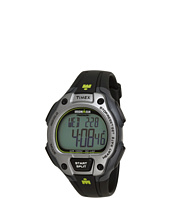 Timex - IRONMAN® Road Trainer Heart Rate Monitor Black/Gray/Lime Green Resin Strap Watch