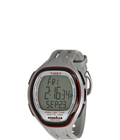 Timex - IRONMAN® Target Trainer Heart Rate Monitor TapScreen Gray/Orange Resin Strap Watch