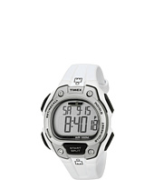 Timex - IRONMAN® Traditional 50-Lap Full-Size White/Silver-Tone/Gray Resin Strap Watch