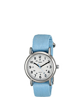 Timex - Weekender Pastel Blue Slip Thru Nylon Strap Watch