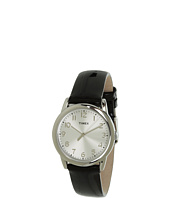 Timex - Mix It Silver/White Dial, Black Patent Leather Strap Watch