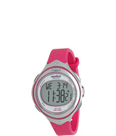 Timex - IRONMAN® Clear View 30-Lap Mid-Size Vivacious Pink Resin Strap Watch