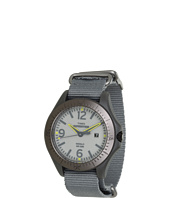 Timex - Expedition® Aluminum Camper Gray Nylon Slip Thru Strap Watch
