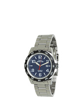 Timex - Expedition® Rugged Metal Field Blue Dial, Silver-Tone Stainless Steel Bracelet Watch