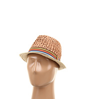 BCBGeneration - Color Block Crochet Fedora