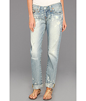 True Religion - Cameron Slim Boyfriend Jean w/ Flap in Millerton