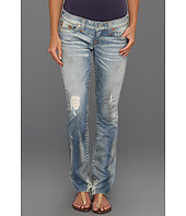 True Religion - Johnny Low-Rise Straight Leg in Hastings Pass