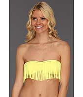 GUESS - On The Prowl Removable Soft Cup Fringe Bandeau Bra