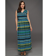 Vince Camuto - Plus Size Tie Back Semi Circle Maxi Dress